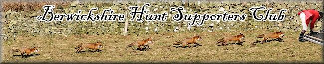 Berwickshire Hunt Supporters Club 6 foxes